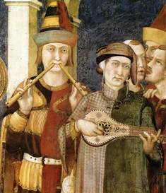 BUSKERS IN THE MIDDLE AGES